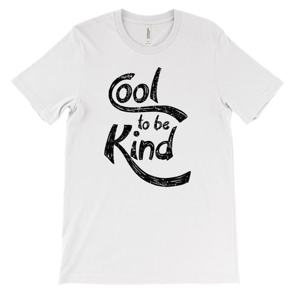 (Soft Unisex BC 3001) Cool to Be Kind (black) Graphic T-Shirt Tee BOXELS