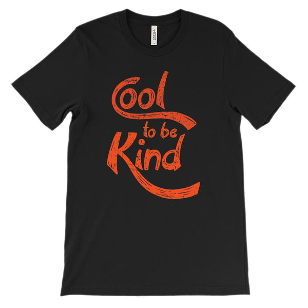 (Soft Unisex BC 3001) Cool to Be Kind (red) Graphic T-Shirt Tee BOXELS