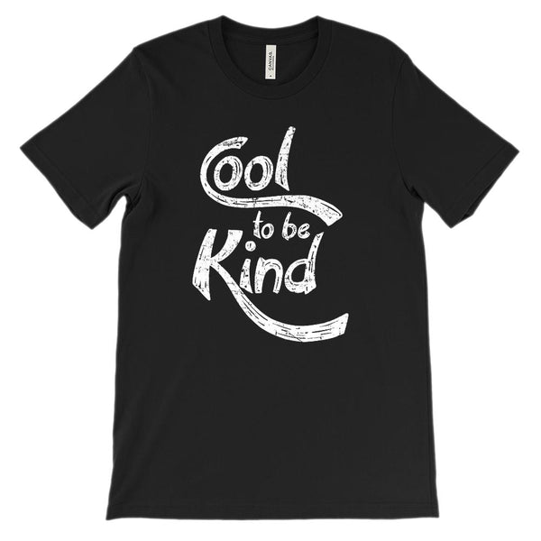 (Soft Unisex BC 3001) Cool to Be Kind (white) Graphic T-Shirt Tee BOXELS