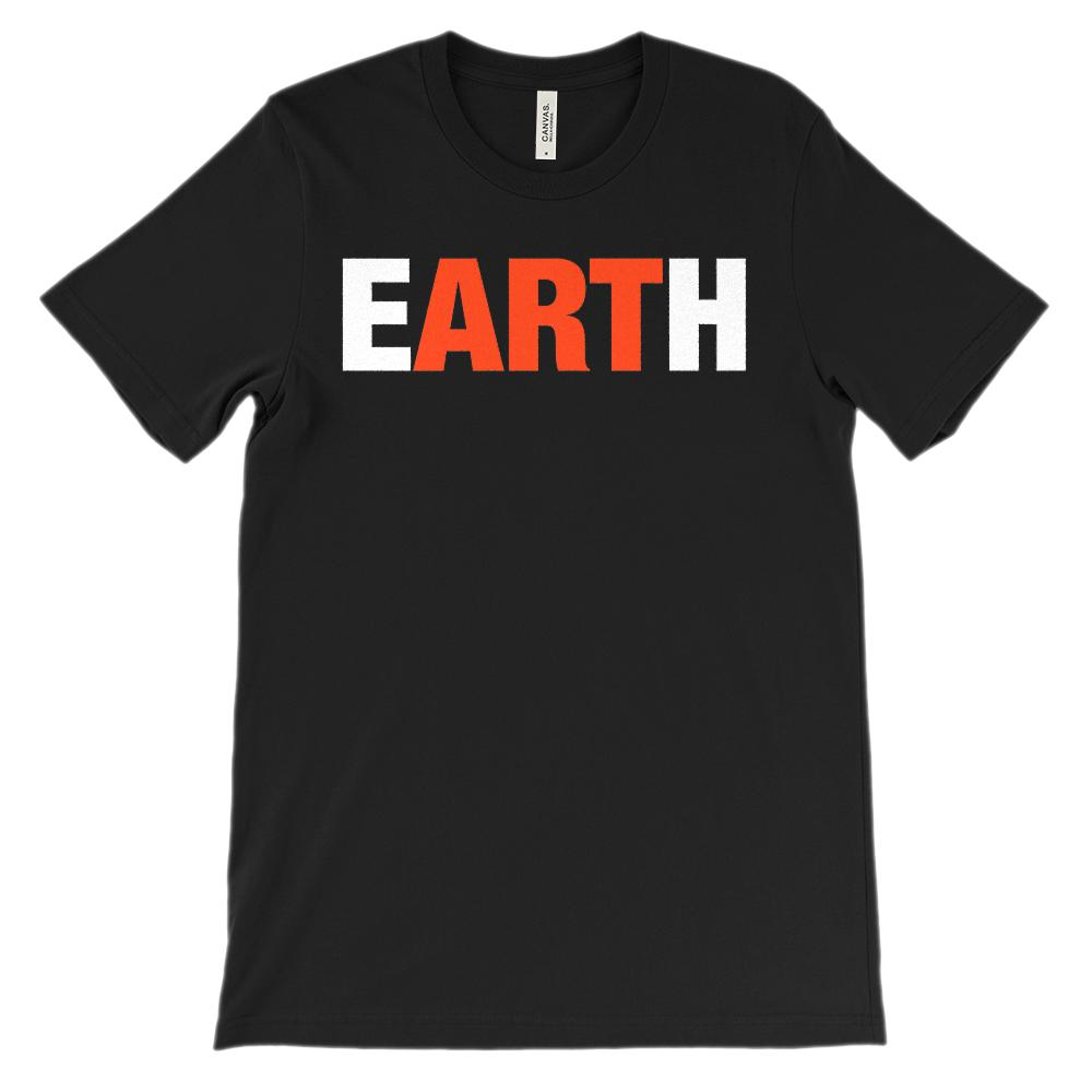 (Soft Unisex BC 3001 Darks) Earth Art