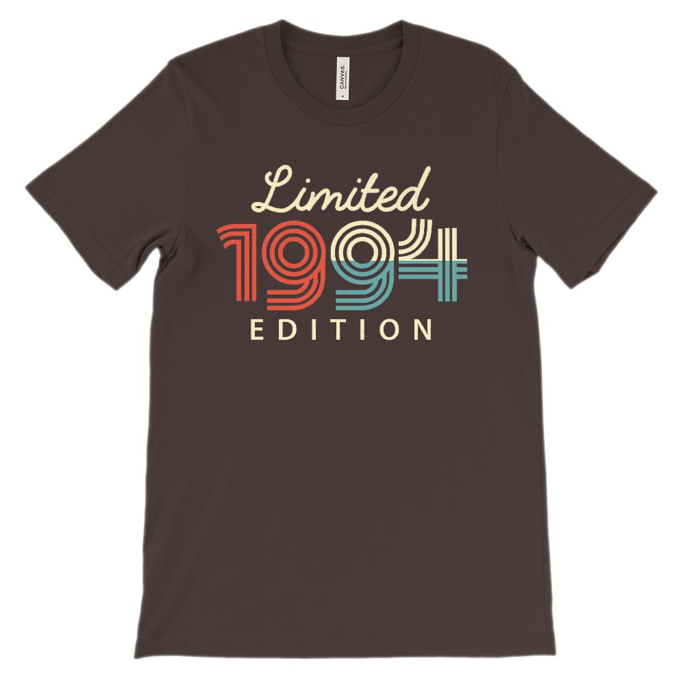 (Soft Unisex BC 3001 Darks) Limited Edition 1994 Graphic T-Shirt Tee BOXELS