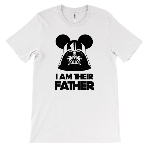 (Soft Unisex BC 3001) I Am Their Father Graphic T-Shirt Tee BOXELS