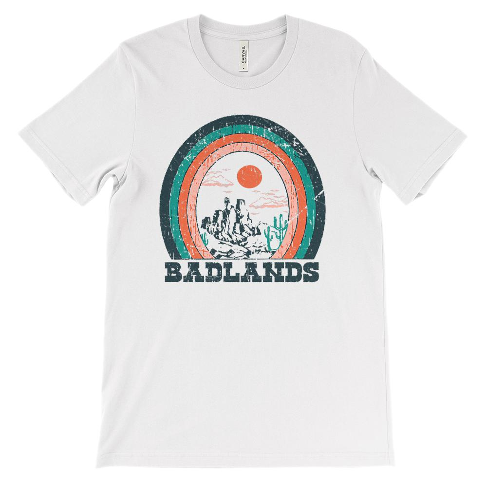 (Soft Unisex BC 3001) Iconic World Destinations (Badlands)