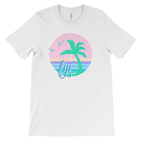 (Soft Unisex BC 3001) Iconic World Destinations (Fiji) Graphic T-Shirt Tee BOXELS