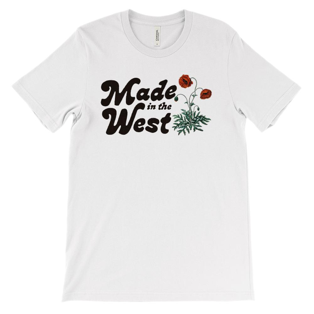 (Soft Unisex BC 3001 - Light Colors) Made in the West Floral