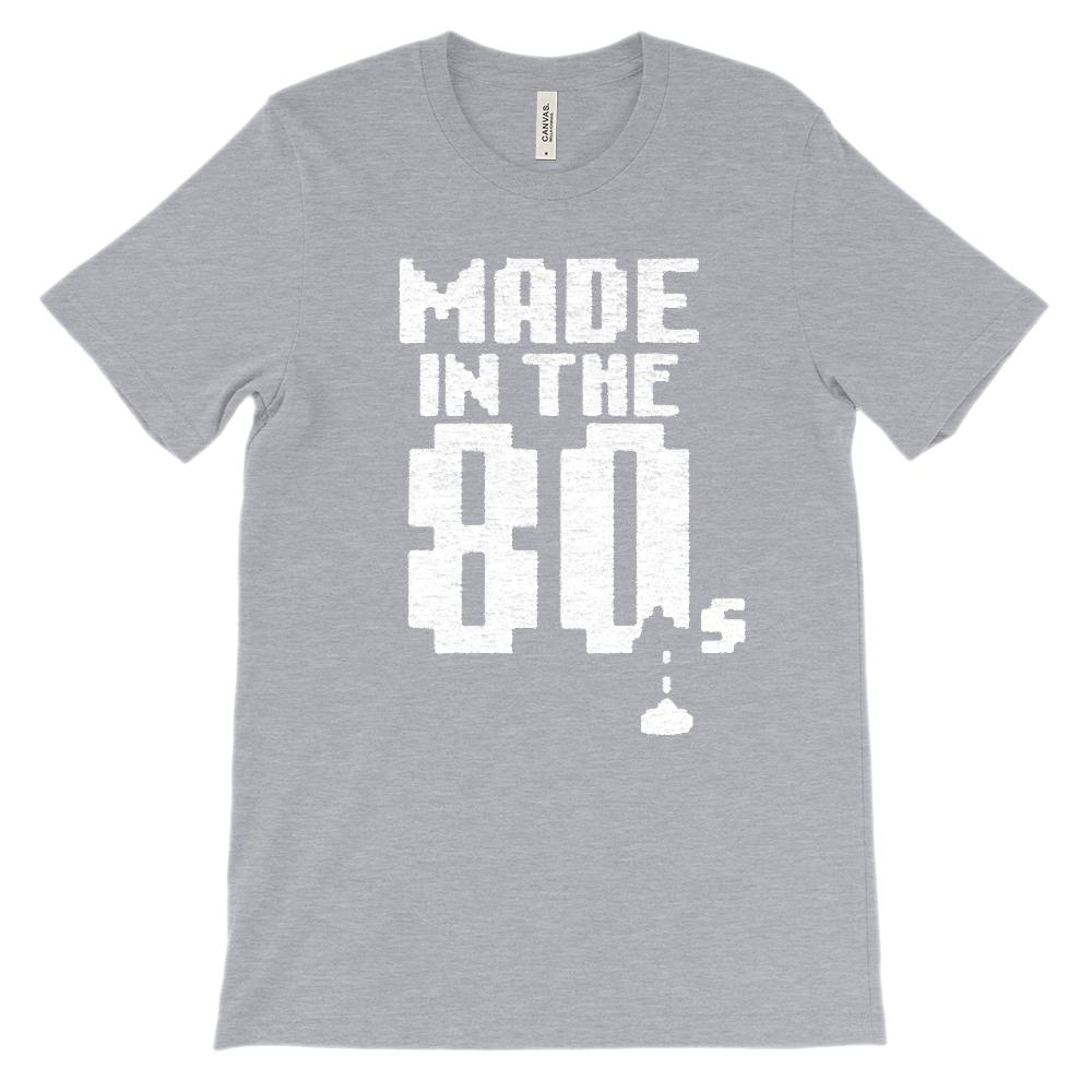 (Soft Unisex BC 3001) Made in the 80s Space Shooter Game