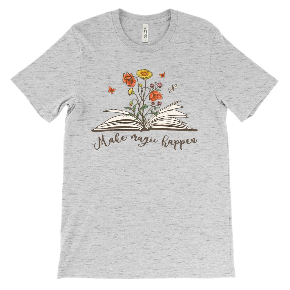 (Soft Unisex BC 3001) Make Magic Happen Graphic T-Shirt Tee BOXELS