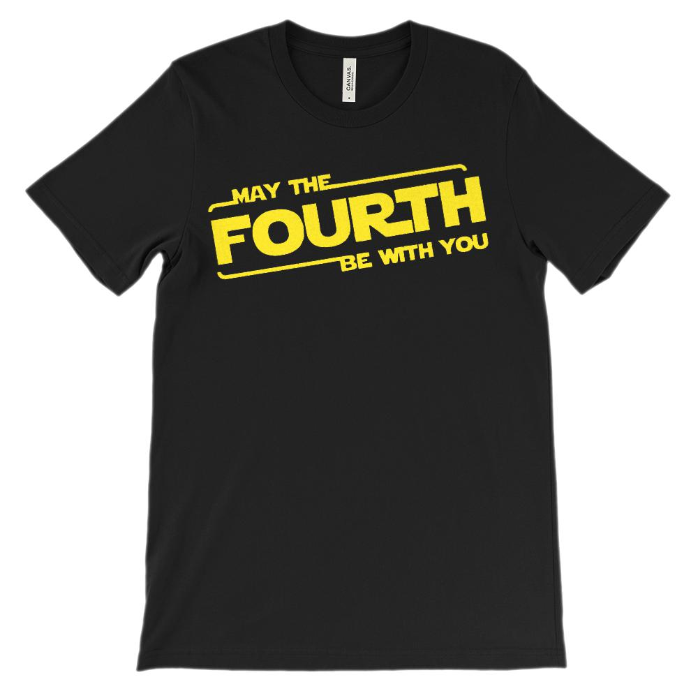 (Soft Unisex BC 3001) May the Fourth Be With You