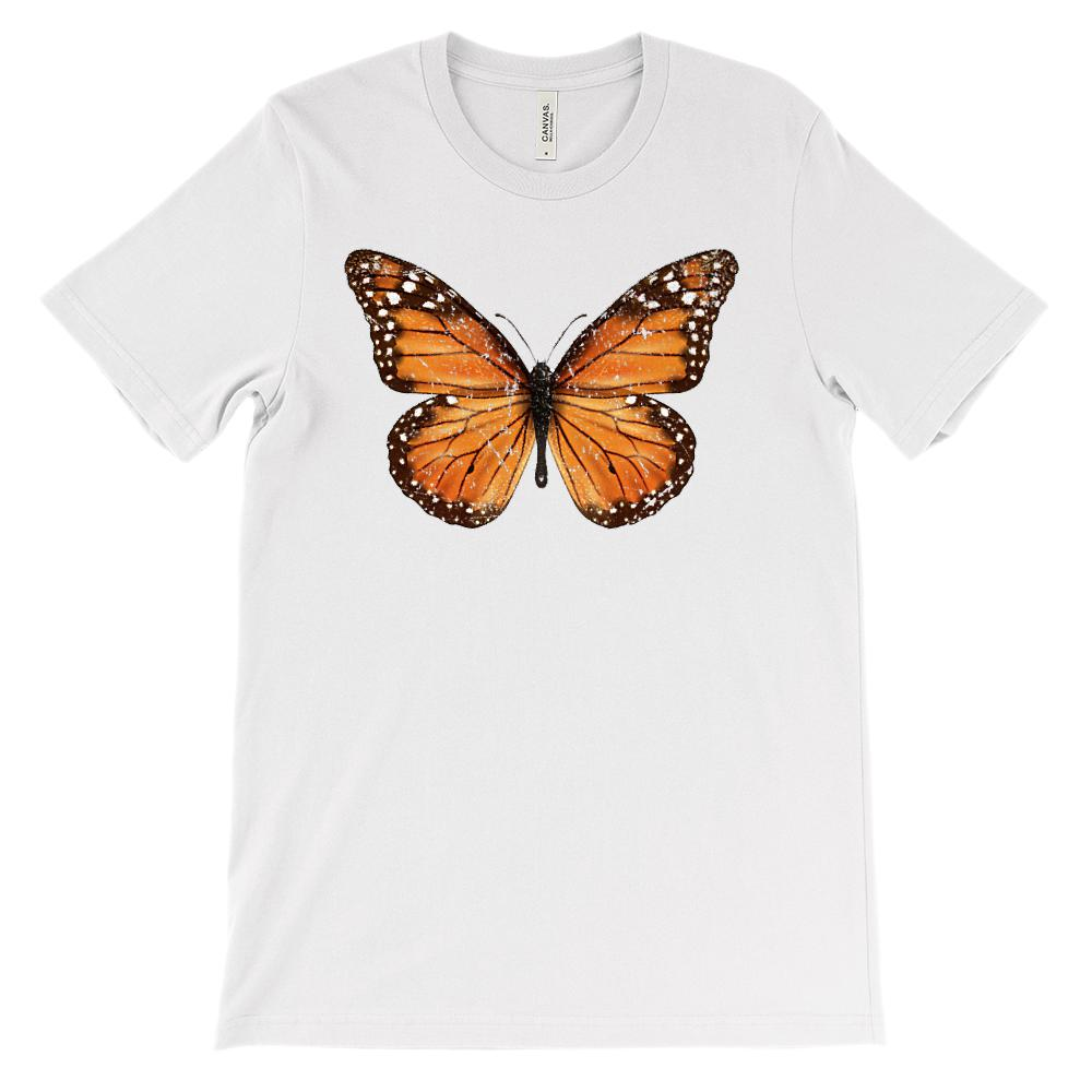 (Soft Unisex BC 3001) Monarch Butterfly