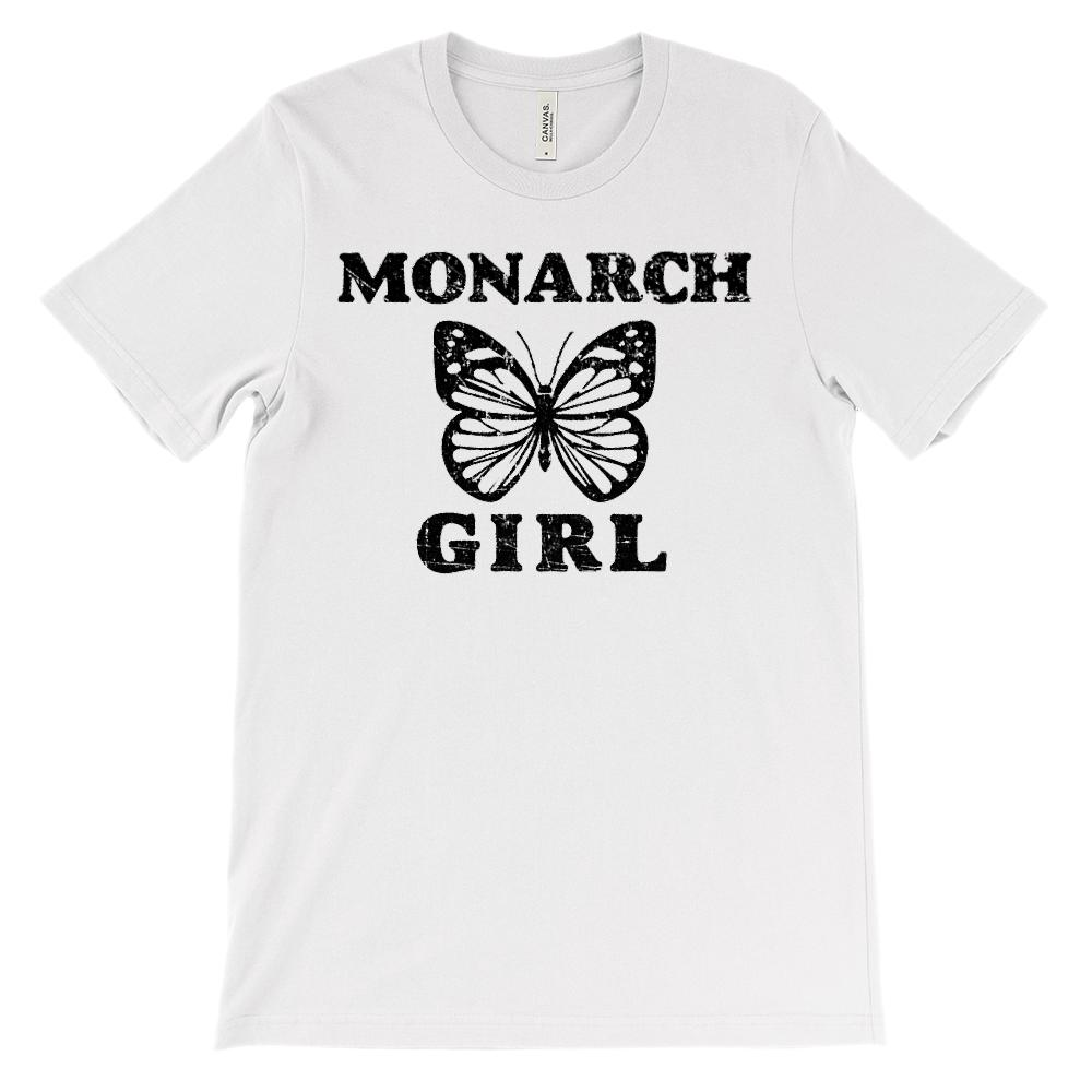 (Soft Unisex BC 3001) Monarch Girl Butterfly
