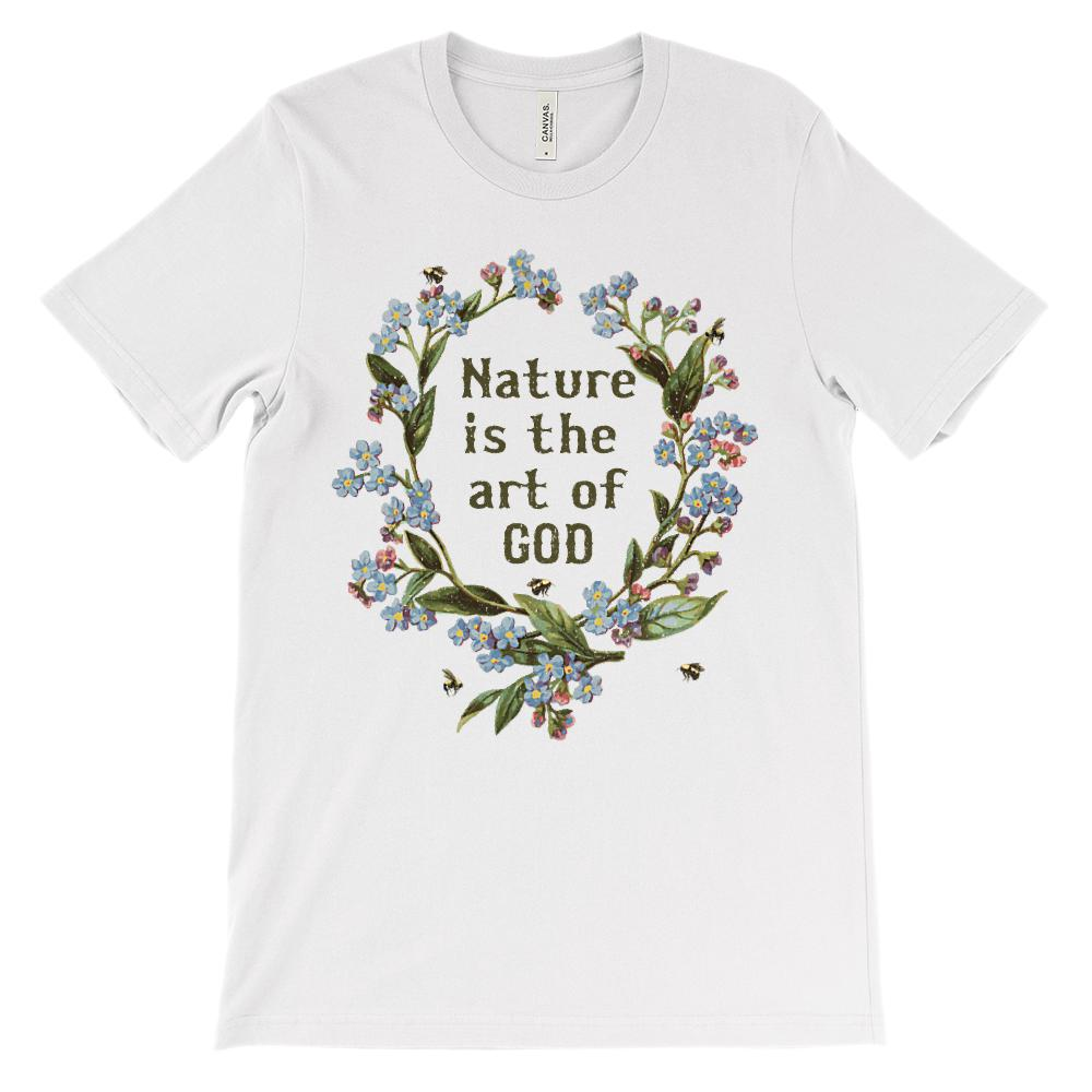 (Soft Unisex BC 3001) Nature is the Art of God
