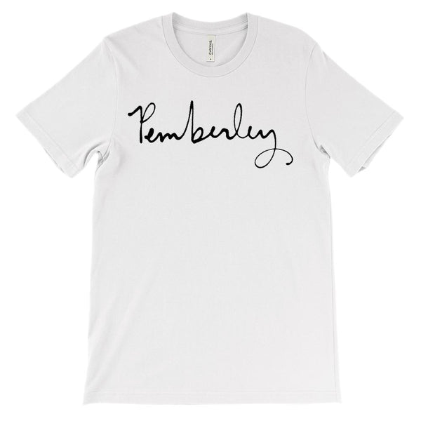 (Soft Unisex BC 3001) Pemberley Graphic T-Shirt Tee BOXELS