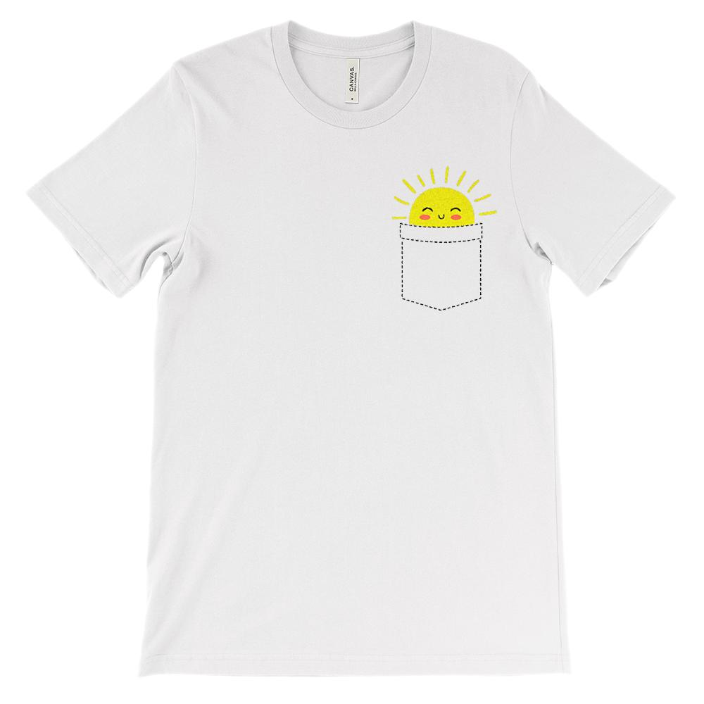 (Soft Unisex BC 3001) Sunshine Pocket