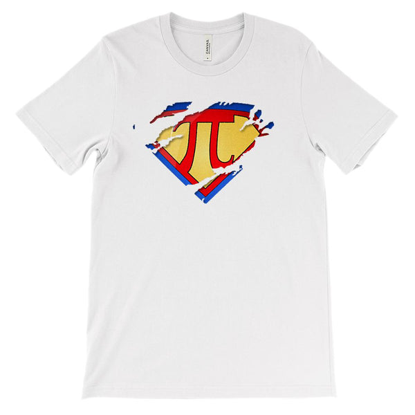 (Soft Unisex BC 3001) Super Pi Symbol Math Graphic T-Shirt Tee BOXELS