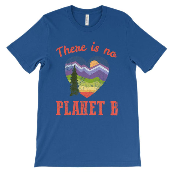 (Soft Unisex BC 3001) There is No Planet B Graphic T-Shirt Tee BOXELS