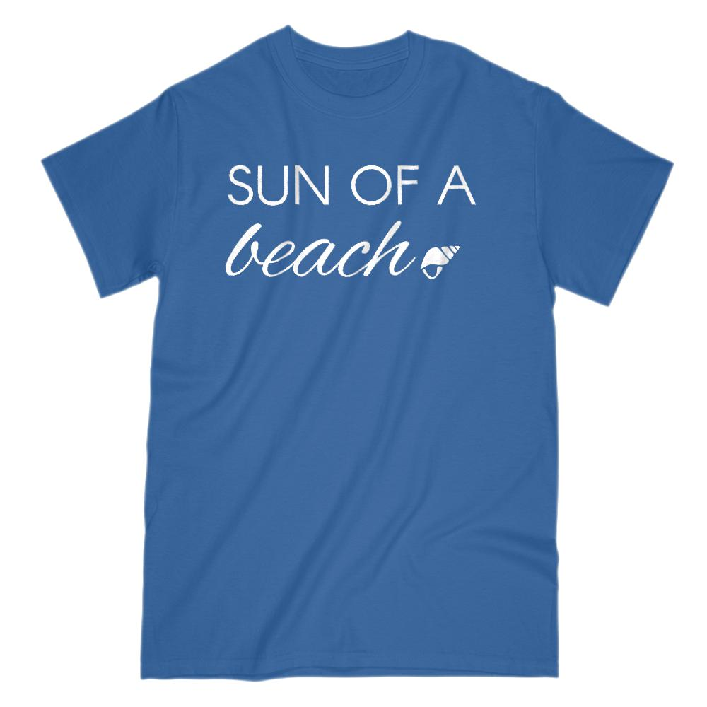 Sun of a Beach Vacation Outdoors Graphic T-Shirt Graphic T-Shirt Tee BOXELS