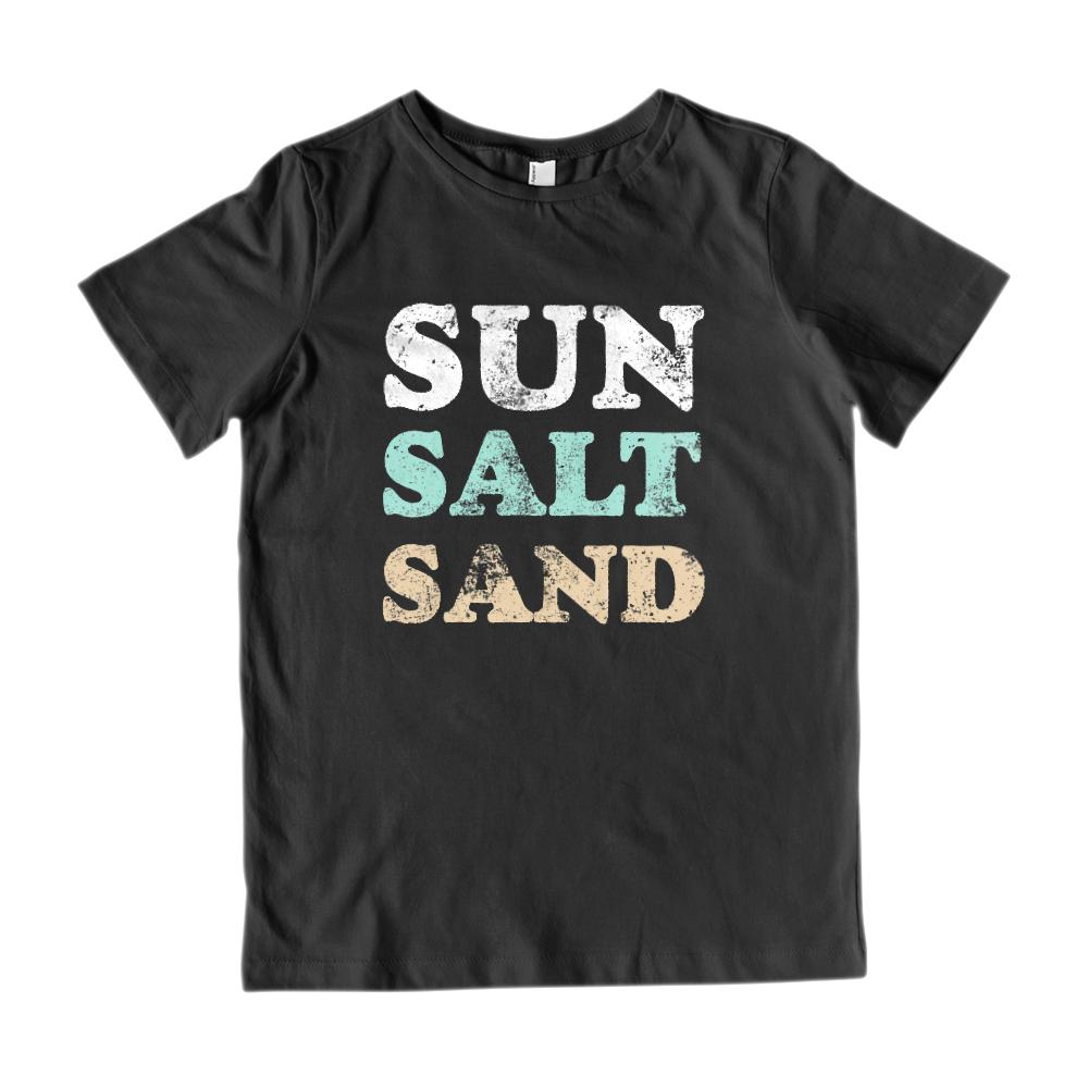 Sun Sand Salt Graphic Grunge Tee (Kids)