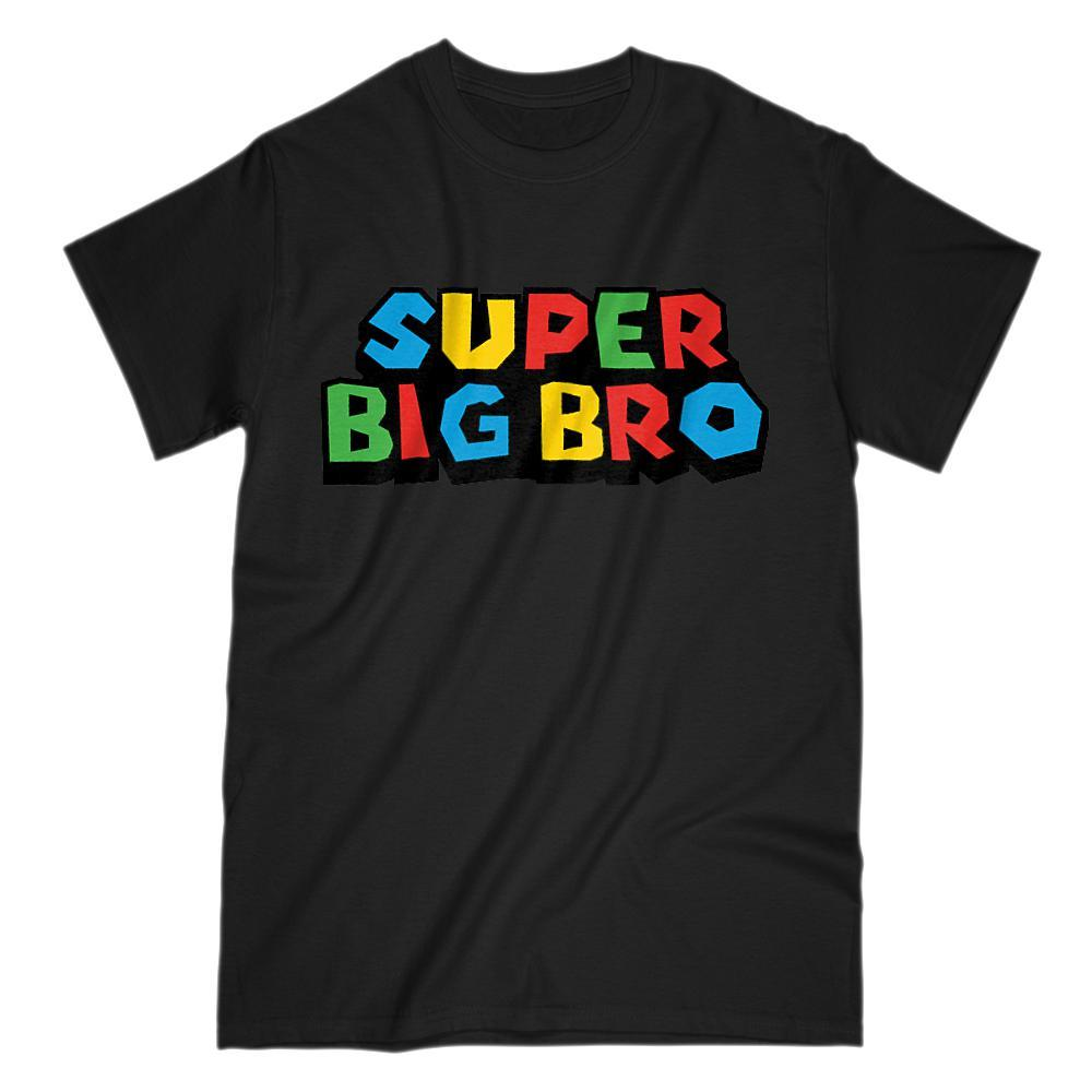 Super Big Bro (Brother) Video Game Gamer Parody T-Shirt
