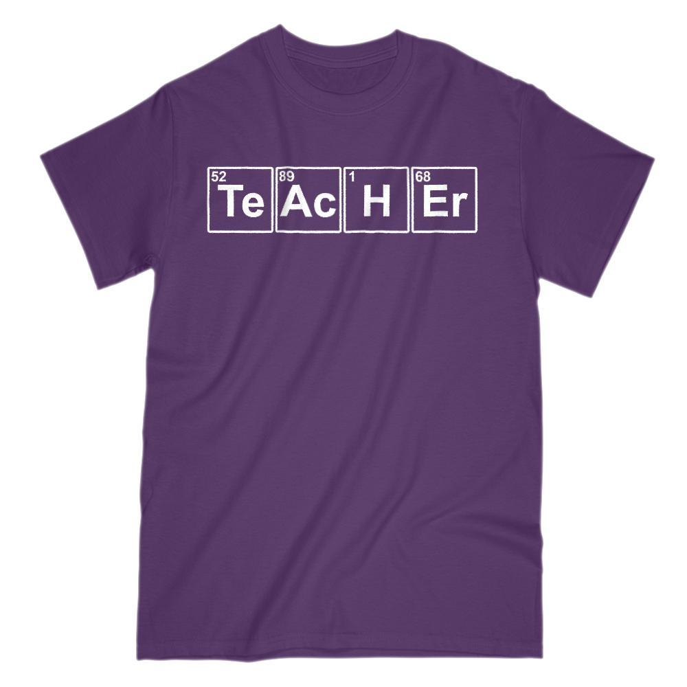 Teacher Chemistry Funny Graphic Saying T-Shirt Graphic T-Shirt Tee BOXELS