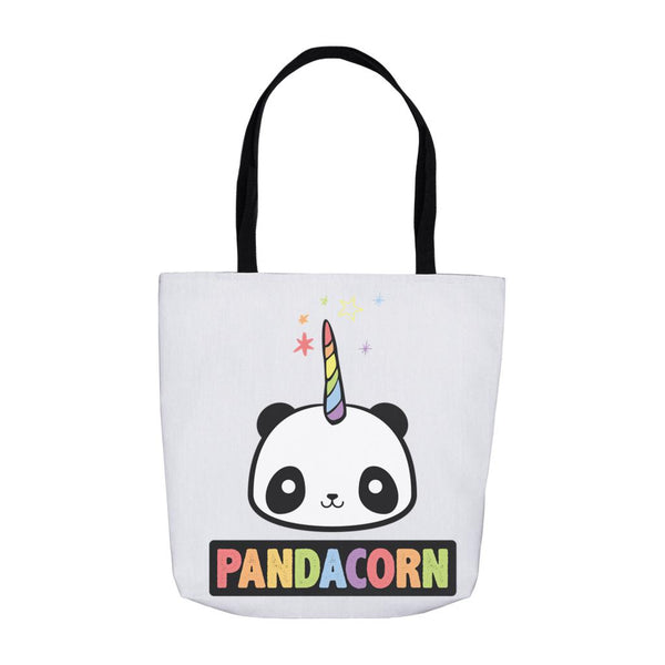 The Original Pandacorn (panda unicorn) Tote Bags Graphic T-Shirt Tee BOXELS