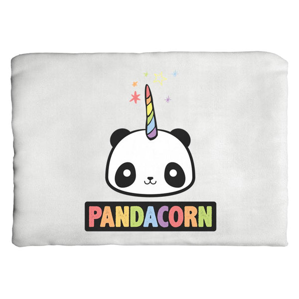 The Original Pandacorn (Unicorn Panda) - Throw Pillows Graphic T-Shirt Tee BOXELS