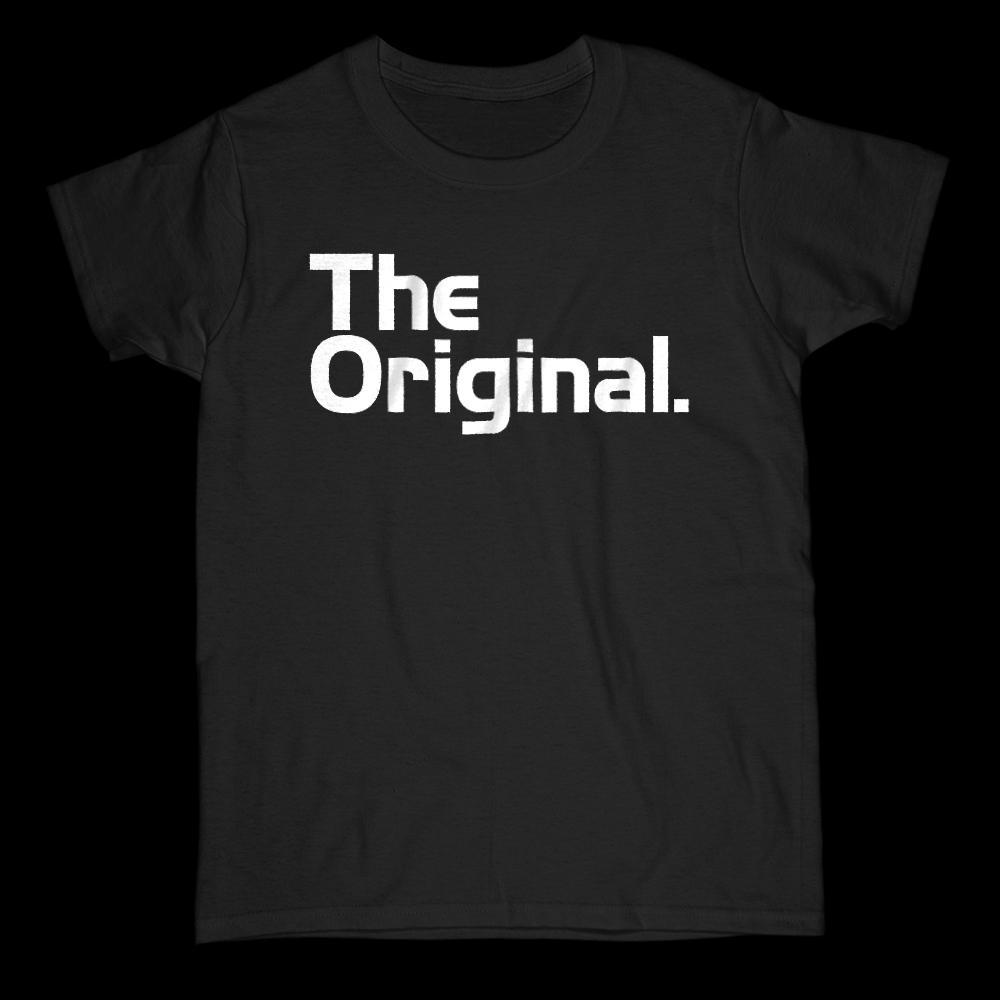 The Original & The Remix (Original) Matching Mini Me Father, Son, Mother, Daughter, Unisex Graphic T-Shirt Tee BOXELS