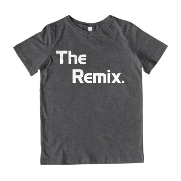 The Original & The Remix (Remix) Matching Mini Me Father, Son, Mother, Daughter Graphic T-Shirt Tee BOXELS