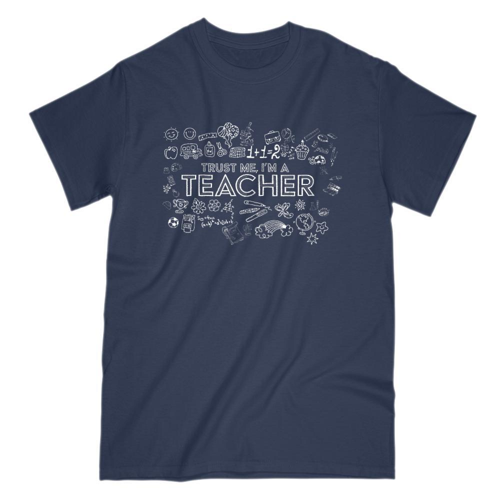 Trust Me I'm A Teacher Graphic T-Shirt Graphic T-Shirt Tee BOXELS