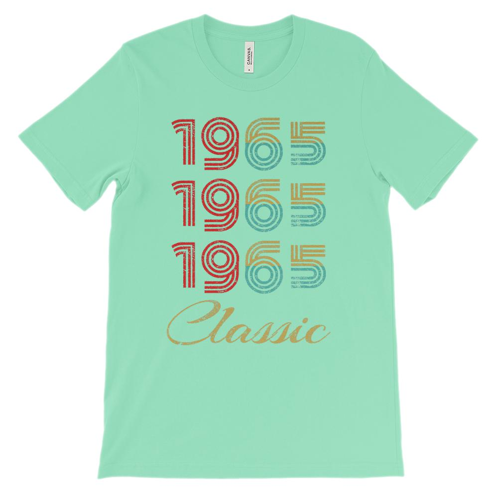 (Unisex BC 3001 Soft Tee) 3 Year Classic 1965 - Made in the Year Richer Graphic T-Shirt Tee BOXELS
