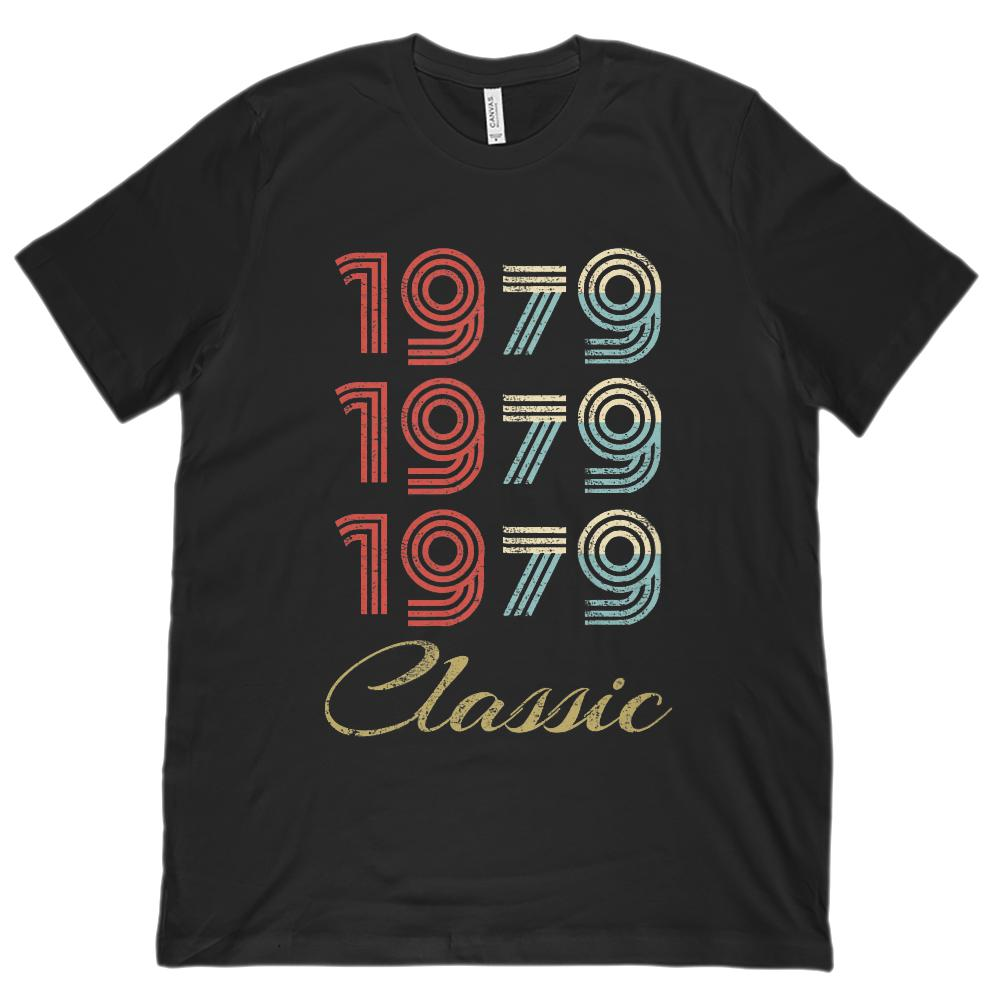 (Unisex BC 3001 Soft Tee) 3 Year Classic 1979 - Made in the Year