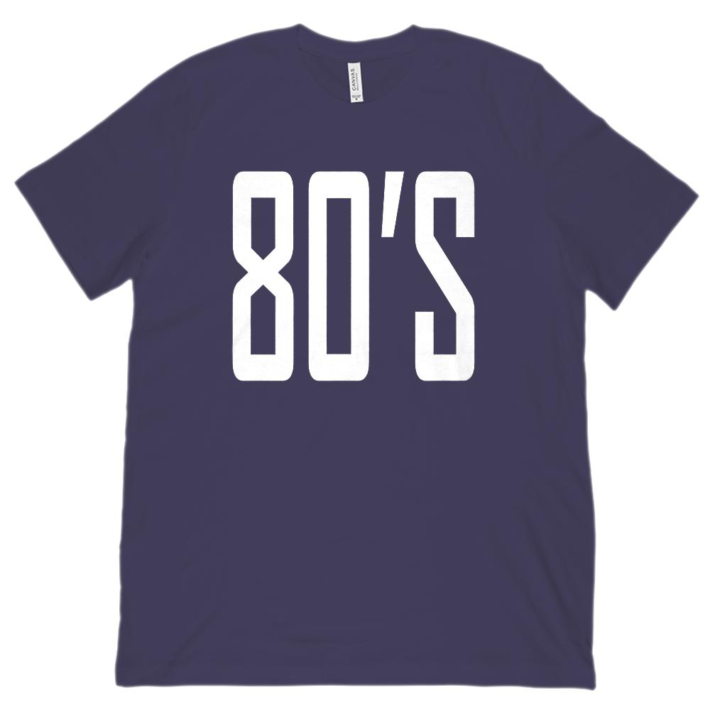 (Unisex BC 3001 Soft Tee) 80's 1980's Retro - Made in the Year Graphic T-Shirt Tee BOXELS
