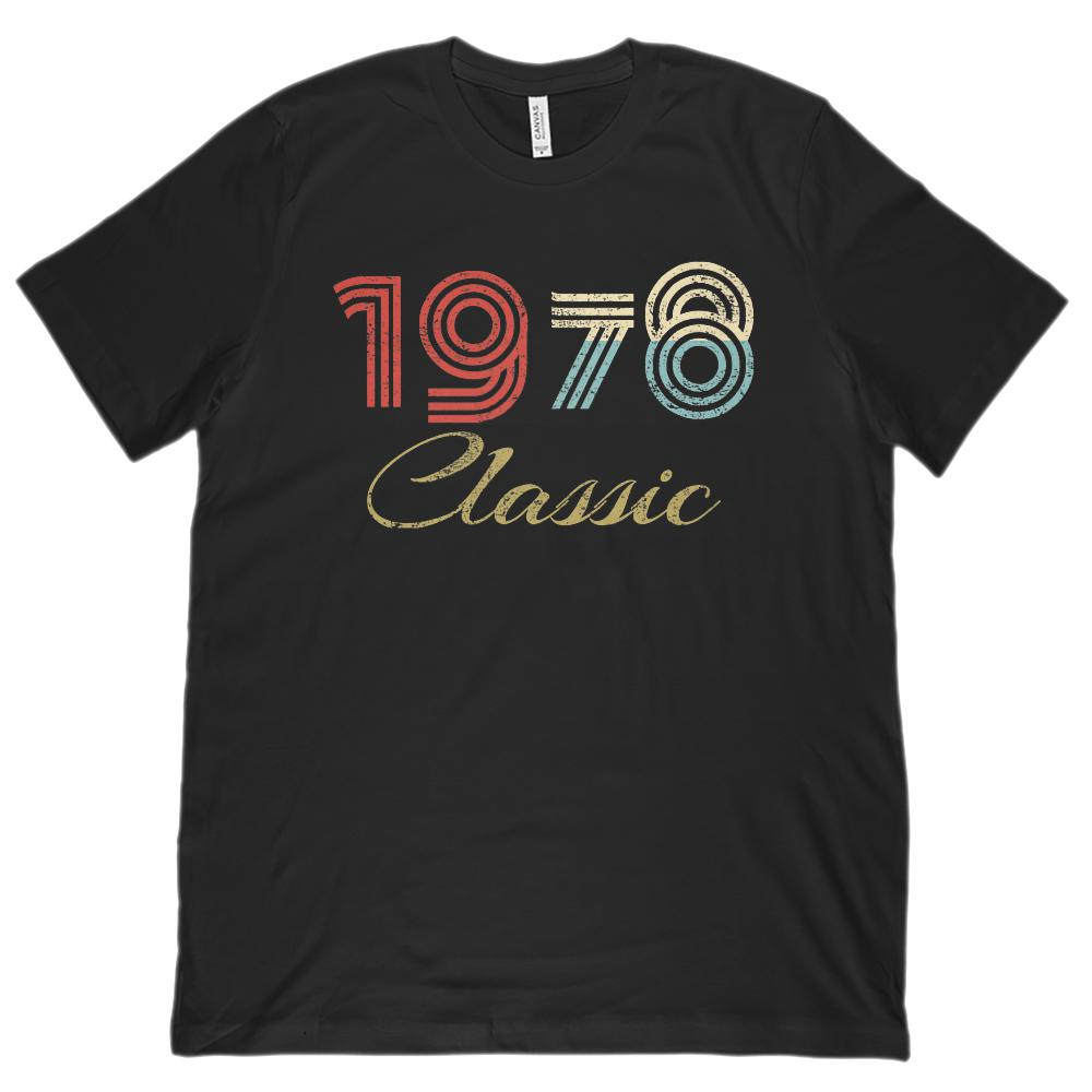 (Unisex BC 3001 Soft Tee) Classic 1978 - Made in the Year