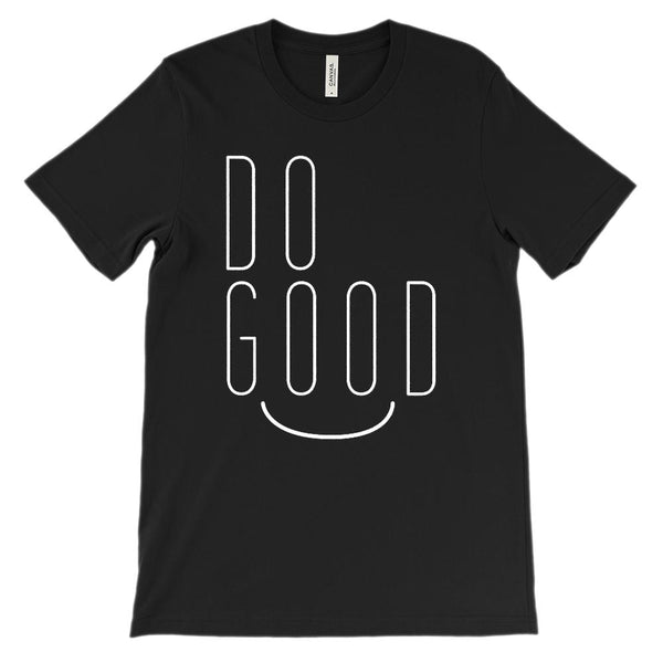 (Unisex BC 3001 Soft Tee) Do Good Graphic T-Shirt Tee BOXELS