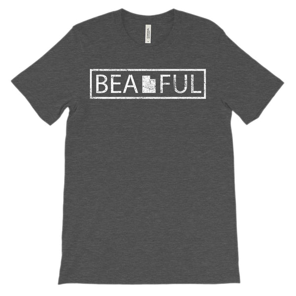(Unisex BC 3001 Soft Tee) Iconic State Scenery - Utah UT (beaUTAHful) Beautiful Graphic T-Shirt Tee BOXELS