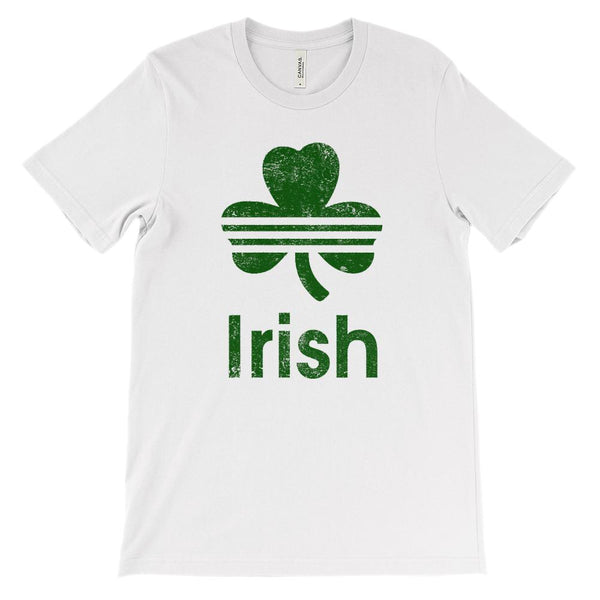 (Unisex BC 3001 Soft Tee) Irish (green) Graphic T-Shirt Tee BOXELS