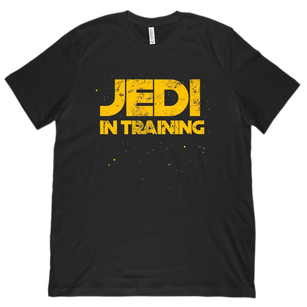 (unisex BC 3001 Soft Tee) JEDI IN TRAINING STAR SPACE WARS Graphic T-Shirt Tee BOXELS