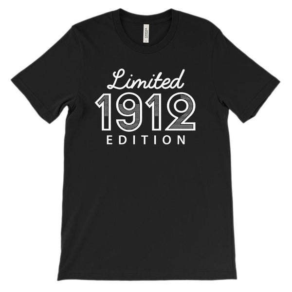 (Unisex BC 3001 Soft Tee) Limited 1912 Edition Graphic T-Shirt Tee BOXELS