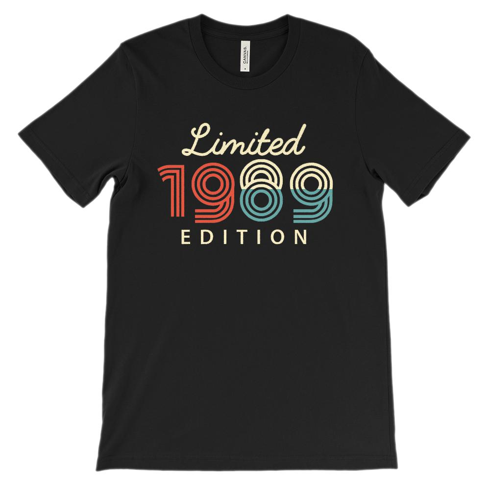 (Unisex BC 3001 Soft Tee) Limited Edition 1989 - Made in the Year
