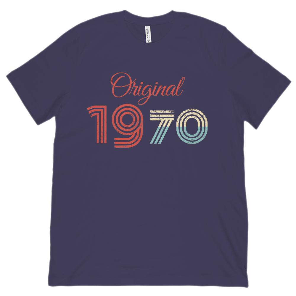 (Unisex BC 3001 Soft Tee) Original 1970 - Made in the Year