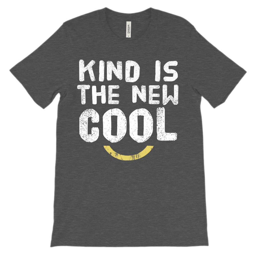 (Unisex BC 3001 Soft Tee - other colors) Kind is the New Cool