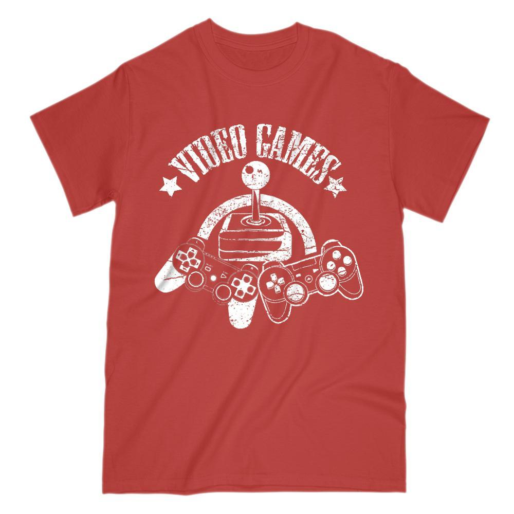 Video Gamer Games Controller Graphic T-shirt Graphic T-Shirt Tee BOXELS