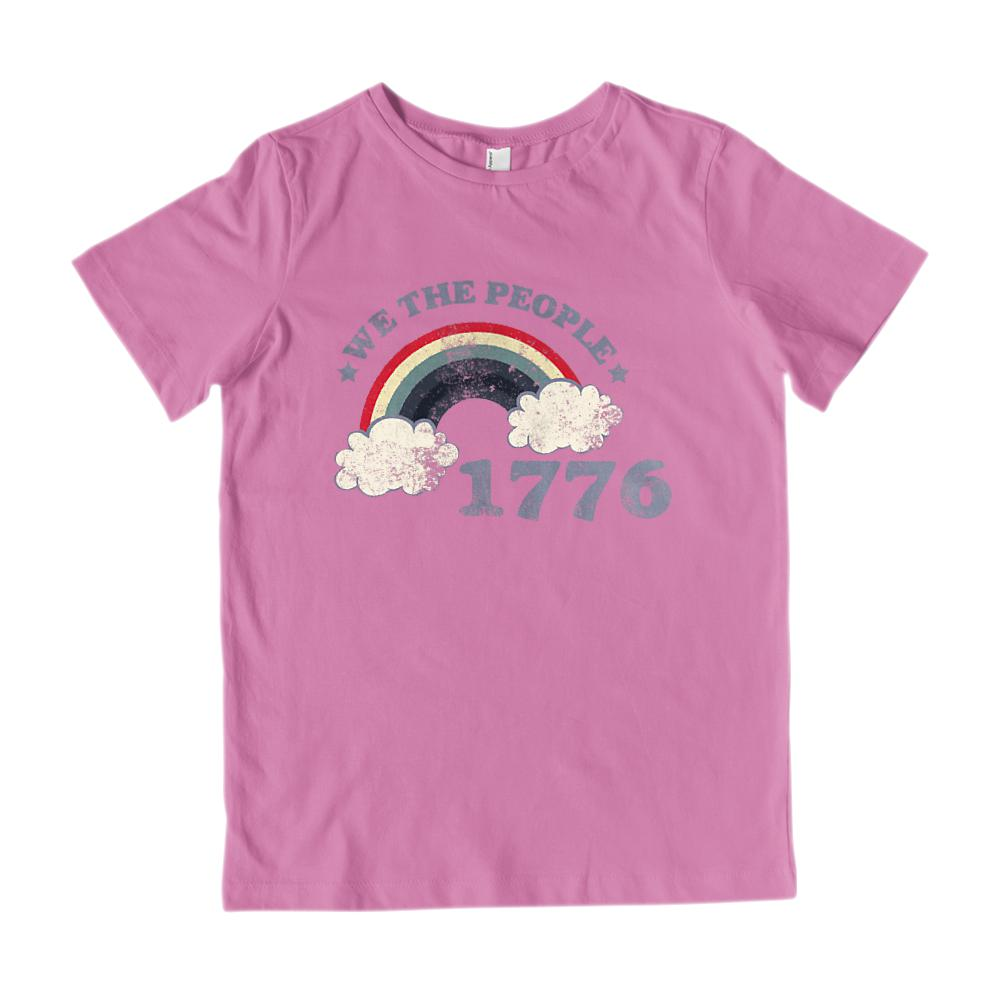We the People 1776 Kids Patriotic T-Shirt Graphic T-Shirt Tee BOXELS