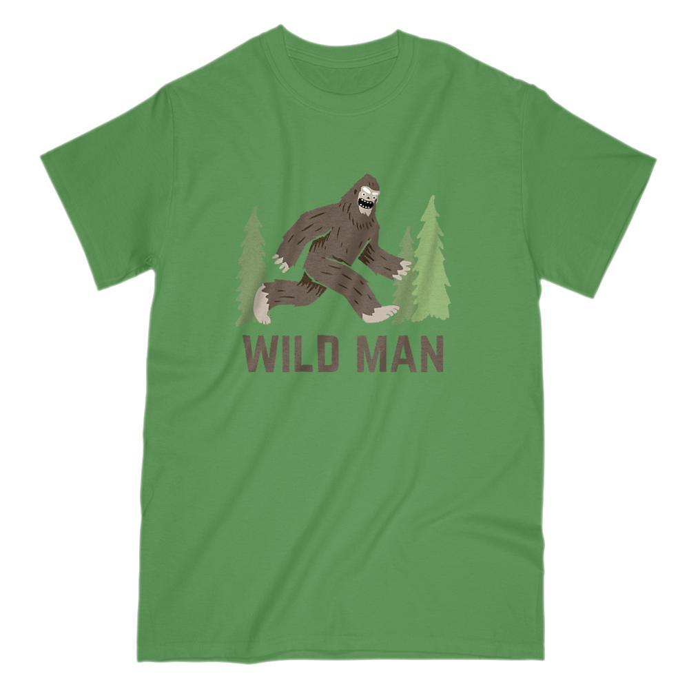 Wild Man Sasquatch Graphic T-Shirt Yeti Graphic T-Shirt Tee BOXELS