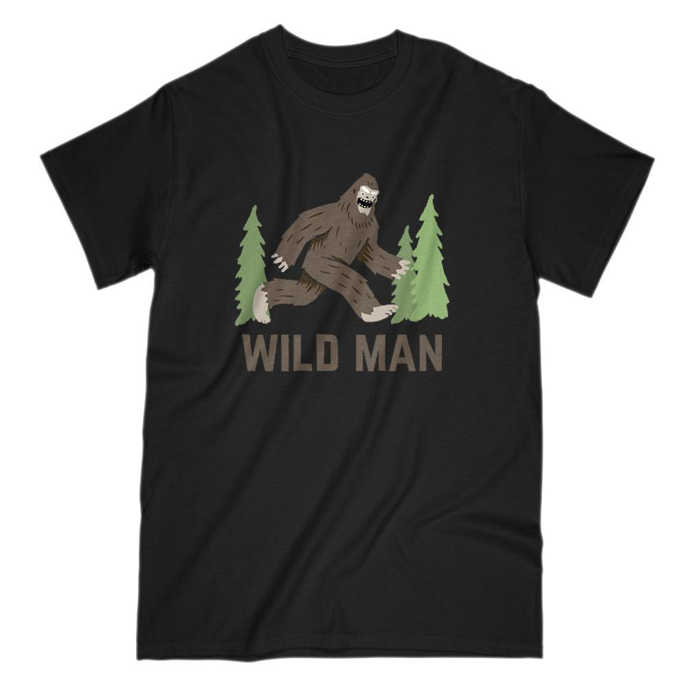 Wild Man Sasquatch Graphic T-Shirt Yeti