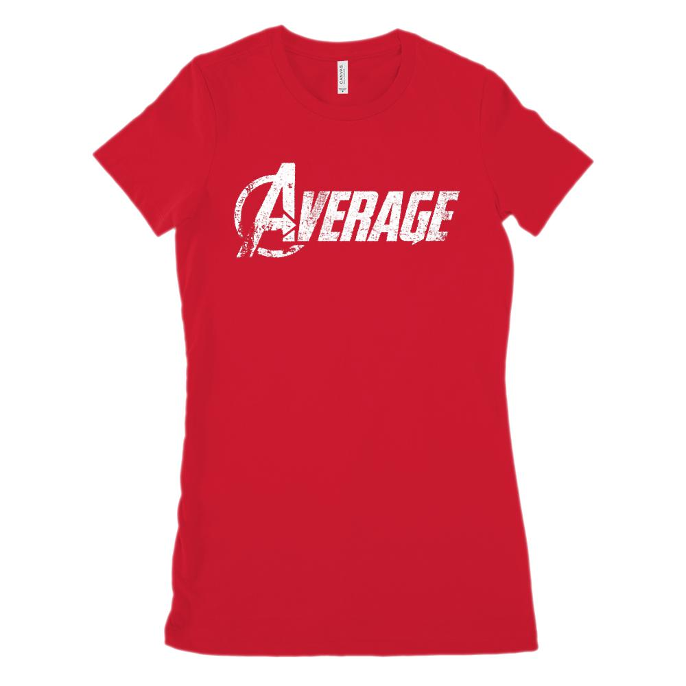 (Women's BC 6004 Soft Tee) Average Avenger Parody