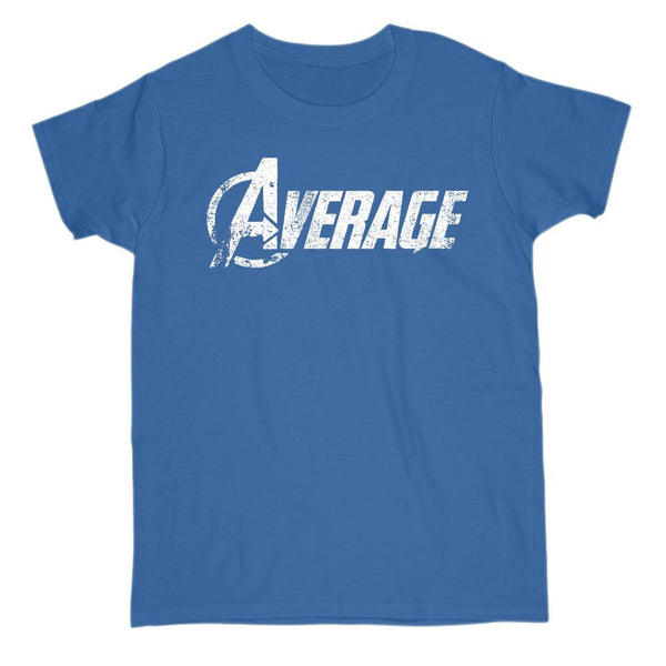 (Women's Gildan Cotton Tee) Average Parody Movie, Space, War, Avenger Graphic T-Shirt Tee BOXELS