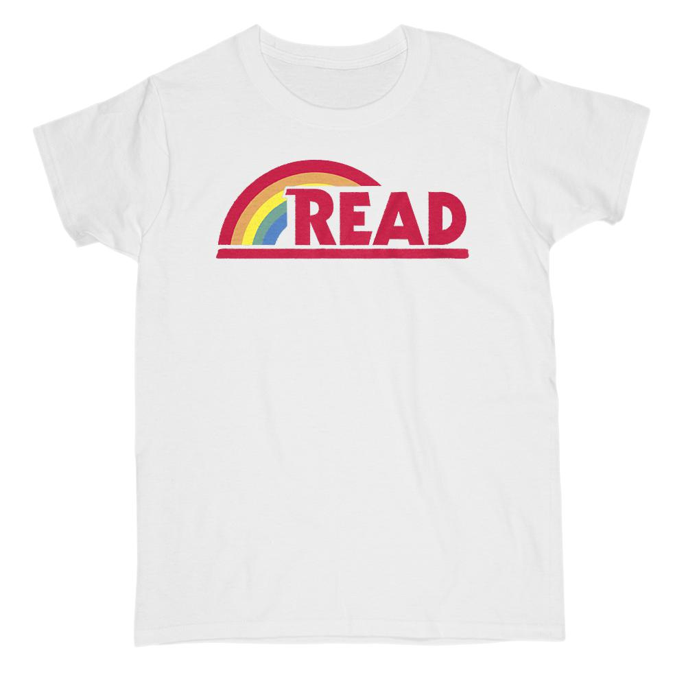(Women's Gildan Cotton Tee)  Reading Rainbow Teacher Teach