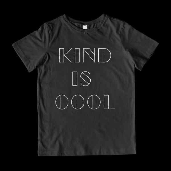 (Youth Cotton Gildan) Kind is Cool Graphic T-Shirt Tee BOXELS