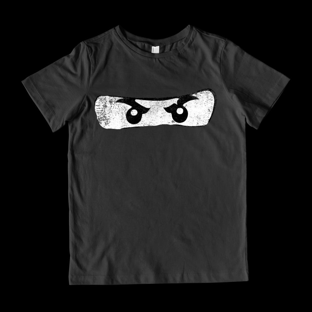 (Youth Cotton Gildan Tee) Ninja Brick Eyes