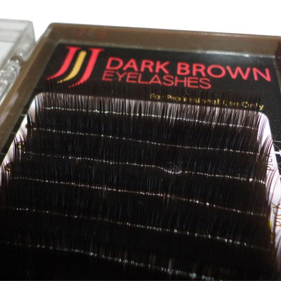 JJ Dark Brown Eyelashes - Bara Lash
